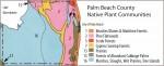 Palm Beach County Plant Communities Map segment