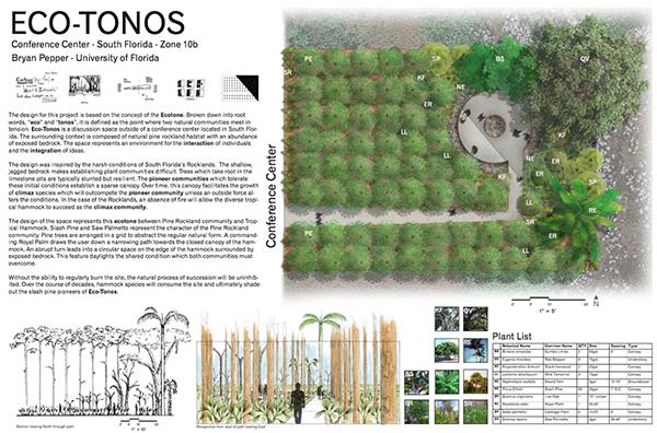 Eco-tonos South Florida landscape award winner
