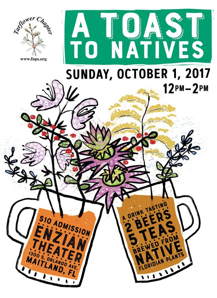 2017 Toast to Natives Native Plant Month celebration