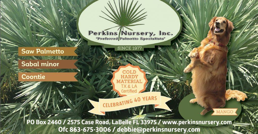FANN member advertiser Perkins Nursery