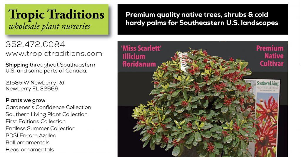FANN advertiser Tropic Traditions Nursery