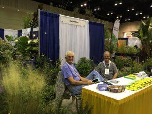 Roger Triplett and Mark Holdren of Green Seasons Nursery. Everybody enjoys these two - the jokes never stop!