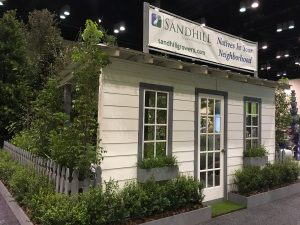 Back of the Sandhill Growers booth at 2017 FNGLA Landscape Show Redux